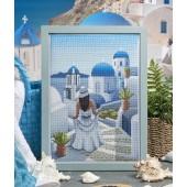 Cross Stitcher Project Pack - Santorini Dreams - XST371