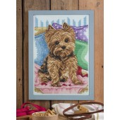 Cross Stitcher Project Pack - Yorkshire Terrier - XST374