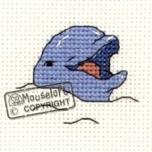 Mouseloft Smiling Dolphin - 004-808stl