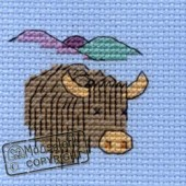 Mouseloft Highland Cow - 004-B04stl