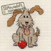 Mouseloft Playful Dog - 004-D08stl