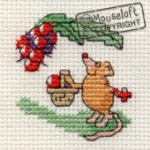 Mouseloft Blackberrying Mouse - 004-E01stl