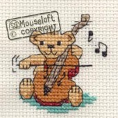 Mouseloft String Quartet Teddy - 004-E07stl