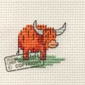 Mouseloft Little Highland Cow - 004-F02stl