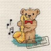 Mouseloft Saxophone Teddy - 004-F03stl