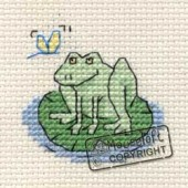 Mouseloft Frog on Lily Pad - 004-G05stl