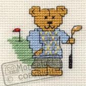 Mouseloft Golfing Teddy - 004-J04stl
