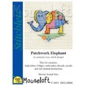 Mouseloft Patchwork Elephant - 004-L03stl