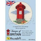 Mouseloft Red Pillar Box - 00D-005iob