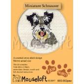 Mouseloft Miniature Schnauzer - 00G-002paw