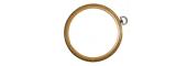 Round Woodgrain Effect Flexi Hoops