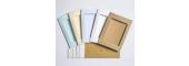 7 x 5in Aperture Cards & Envelopes - 5x Cream