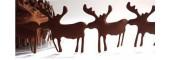Jumbo Reindeer Trim