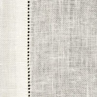 28 Count Cashel White Table Runner 100 x 50cm (39 x 19.5in) - Full Metre