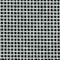 Double Canvas White: 6 Hole