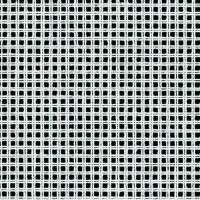 Double Canvas White: 8 Hole