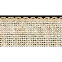1.5in / 3cm Oatmeal Fleck (25% Linen) Aida Band - 1m