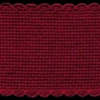 2in / 5cm Burgundy Aida Band - 1m