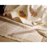 14 Count Palisade Afghan: Cream