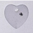 Crystal Treasures 13050 - Large Frosted Heart Crystal