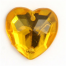 Gold Heart Charms - 10 Pack