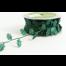 EX45 - Green Cut-Out Holly Shapes Ribbon