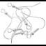 Silver Long Ball Earring Hooks