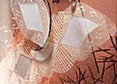 Crochet Doilie Diamonds