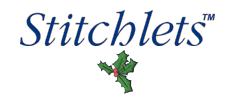 Christmas Stitchlets