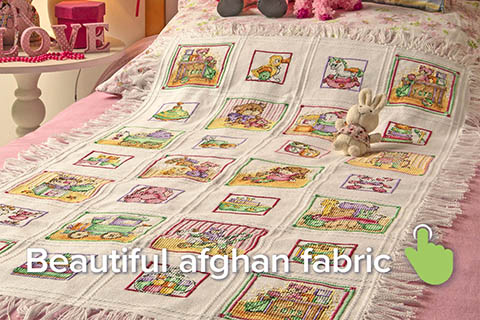 Beautiful Afghan fabric