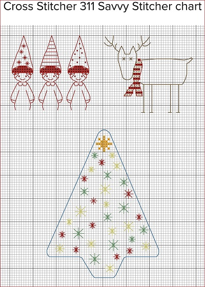 Cross Stitcher 311 Savvy Stitcher chart